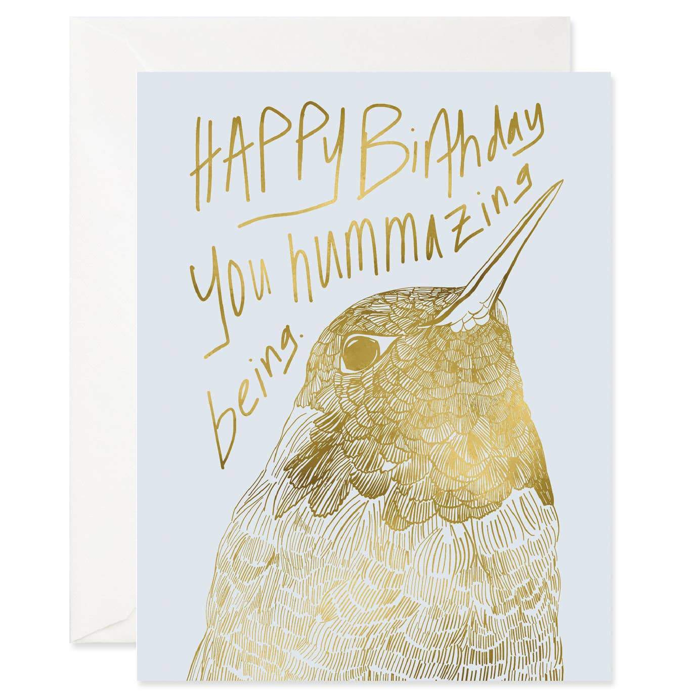 Hummazing Birthday Card