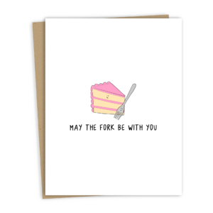 May The Fork Card