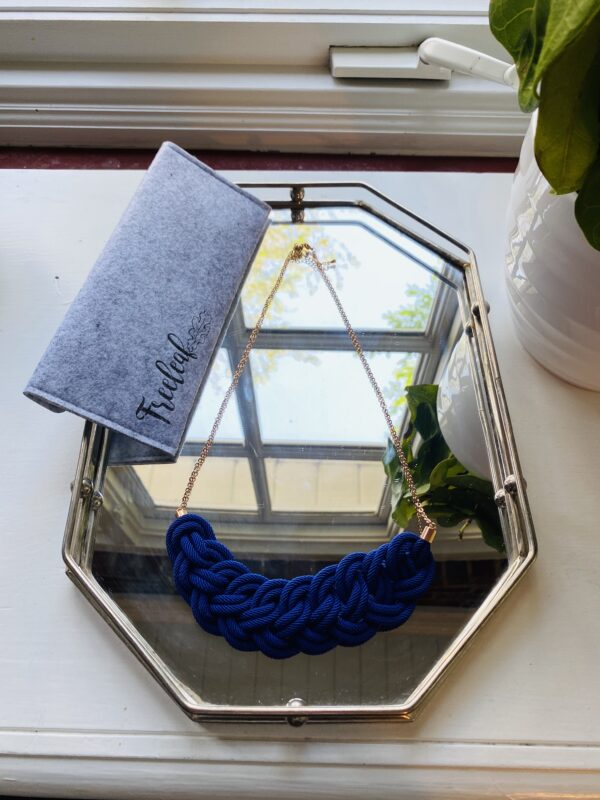 The Journey Necklace - Royal Blue, Long
