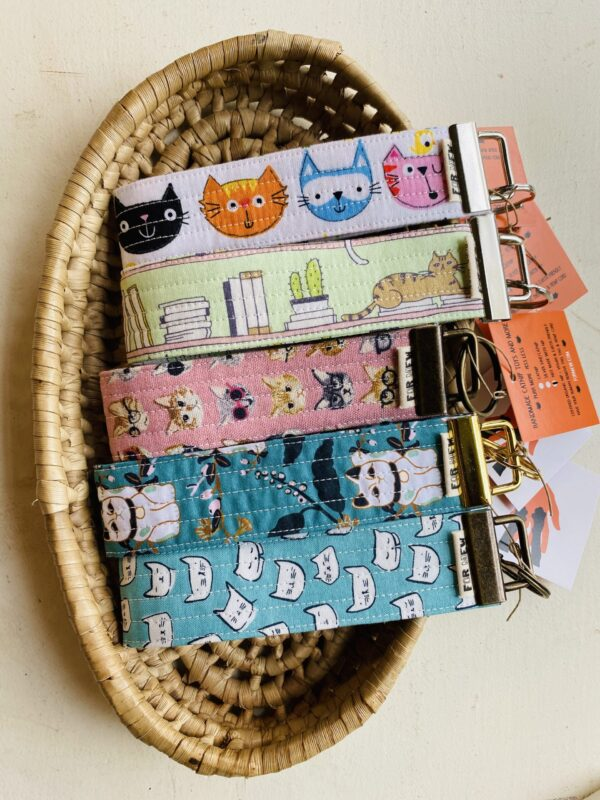 Key Fobs Key Chain for Cat Lovers